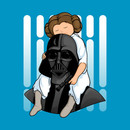 Number One Dad (Leia Version) T-Shirt