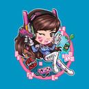 Gamer Girl D.va T-Shirt