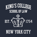 HAMILTON BROADWAY MUSICAL King's College School of Law Est. 1754 Greatest City in the World T-Shirt