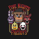 Five Nights At Freddy's Multi-Character Design T-Shirt