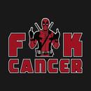 """Deadpool """"Fuck Cancer"""" T-Shirt"""