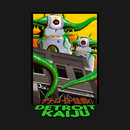 Those DAM Farodolites! - Giant Robo-Monsters - Pete Coe's Detroit Kaiju Series T-Shirt