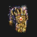 Epic Thanos Infinity Gauntlet Portrait T-Shirt