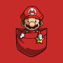 Pocket Super Mario T-Shirt