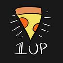 1 UP pizza shirt T-Shirt