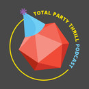 Total Party Thrill Podcast Logo T-Shirt