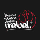Rogue One - Rebel - White T-Shirt