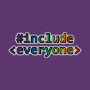 Geeks for Peace - #include everyone T-Shirt