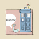 Don't Let the Pigeon Drive the Tardis T-Shirt