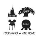 Four Parks One Home T-Shirt