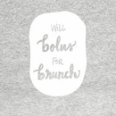 Will Bolus For Brunch - White T-Shirt