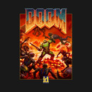 DOOM 4 New/Retro Box Art T-Shirt