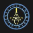 Illuminated Bill Cipher's Wheel T-Shirt