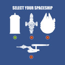 SELECT YOUR SPACESHIP T-Shirt