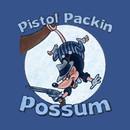 Pistol Packin Possum T-Shirt