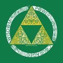 Zelda - triforce circle T-Shirt