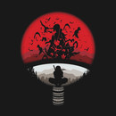 Itachi uchiha red moon naruto T-Shirt