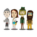 The Hipsters of Oz T-Shirt