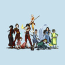 Avatar: the Last Airbender Group T-Shirt