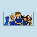 X-Men 92 Wolverine Storm Cyclops Rogue Beast T-Shirt