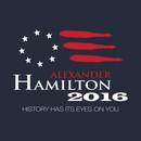 Hamilton 2016 - History Has Its Eyes on You T-Shirt