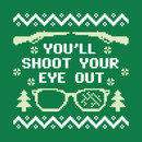 You'll Shoot Your Eye Out Christmas Sweater T-Shirt
