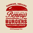 Benny's Burgers - Hawkins, Indiana T-Shirt