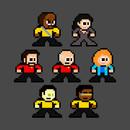 8-bit Star Trek: The Next Generation T-Shirt