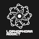 Lophophora Addict White vertical logo T-Shirt