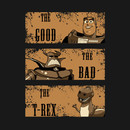 The Good, The Bad, The T-Rex T-Shirt