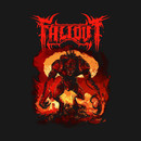 Unofficial Fallout Metal Band Tee T-Shirt