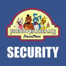Five Nights at Freddy's 2 - Freddy Fazbear's Security Logo  T-Shirt