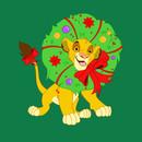 Christmas Simba T-Shirt