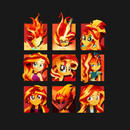 Forms of Sunset Shimmer T-Shirt