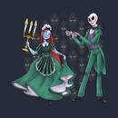 Haunted Mansion Jack and Sally T-Shirt