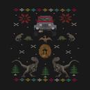 Ugly Jurassic Christmas Sweater T-Shirt
