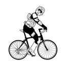 Biker Scout on a Bike - Shirt T-Shirt