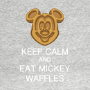 Keep Calm And Eat Mickey Waffles T-Shirt