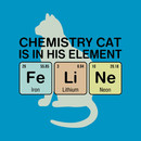 Chemistry Cat - Fe Li Ne T-Shirt