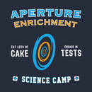Aperture Science Camp T-Shirt