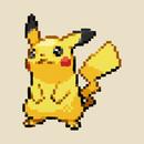 pikachu pixel art T-Shirt
