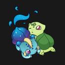 Nebbysaur and Bulbasaur T-Shirt T-Shirt
