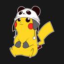 Panda Pikachu T-Shirt