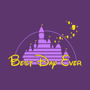 Best Day Ever purple and gold T-Shirt