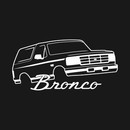 1992-1996 Ford Bronco Front Side T-Shirt