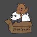 We Bare Bear Cubs T-Shirt