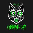 :2nd End; Designs Cannibal Cat Logo T-Shirt