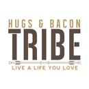 Hugs & Bacon Tribe Members T-Shirt