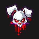 Vampire Bunny Dark T-Shirt