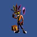 The Legend of Crash: Aku's Mask T-Shirt